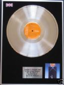 ELVIS PRESLEY - LP Platinum Disc- MOODY BLUE